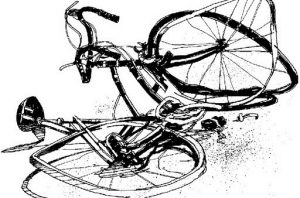 Bicycle accident, clever owner, funny story