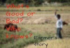 farmer story, Inspiring short stories on positive attitude, True inspirational short stories,