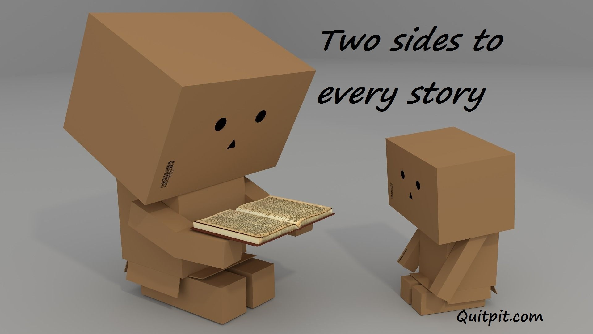 two sides to every story, inspirational story