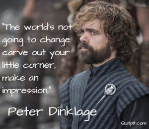 Peter Dinklage, Inspirational stories, don't quit in the pit,motivational story.