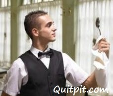 waiter with a spoon, funny story