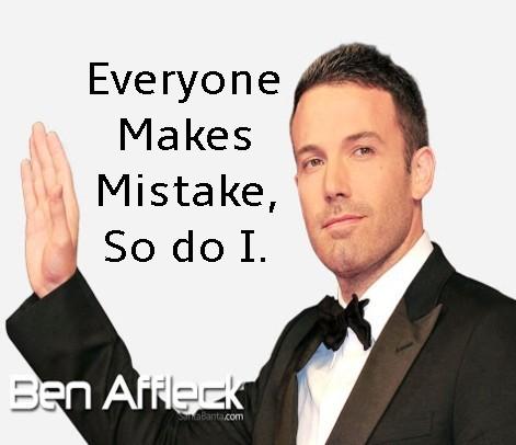 Ben Affleck, Ben affleck inspirational story