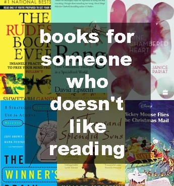 book for someone who doesn't like reading, quitpit.com